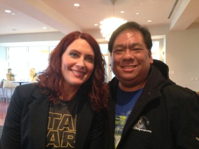 Got the chance to meet Vanessa Marshall, the voice of Hera from Star Wars Rebels