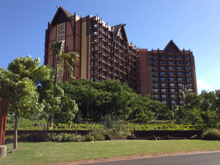 Disney's Aulani Resort in Oahu