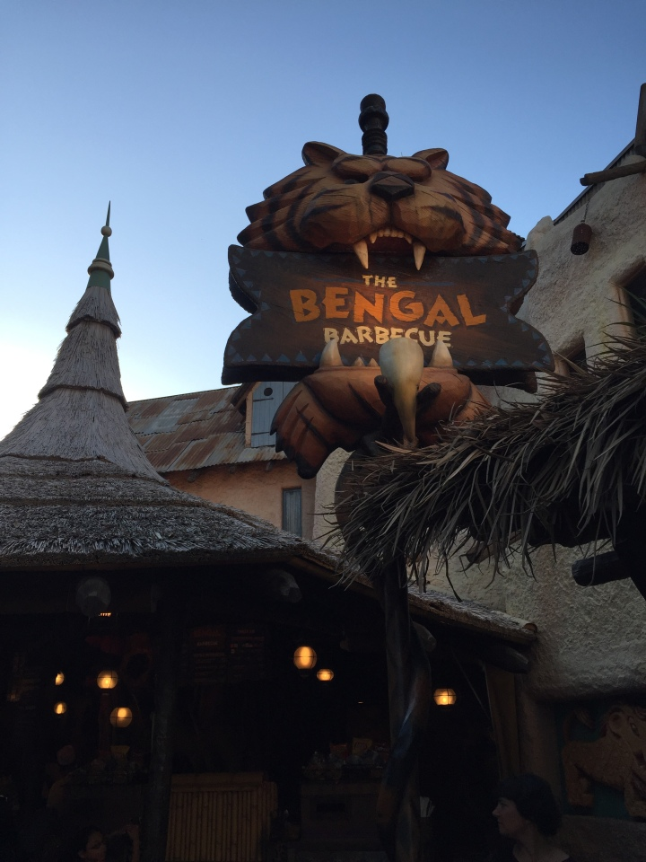 The Bengal Barbeque over in Adventureland has great savory snacks for less than $5