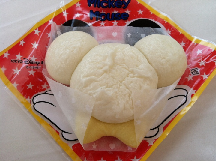 Mickey Cha Siu Bao! Another must have at the park!
