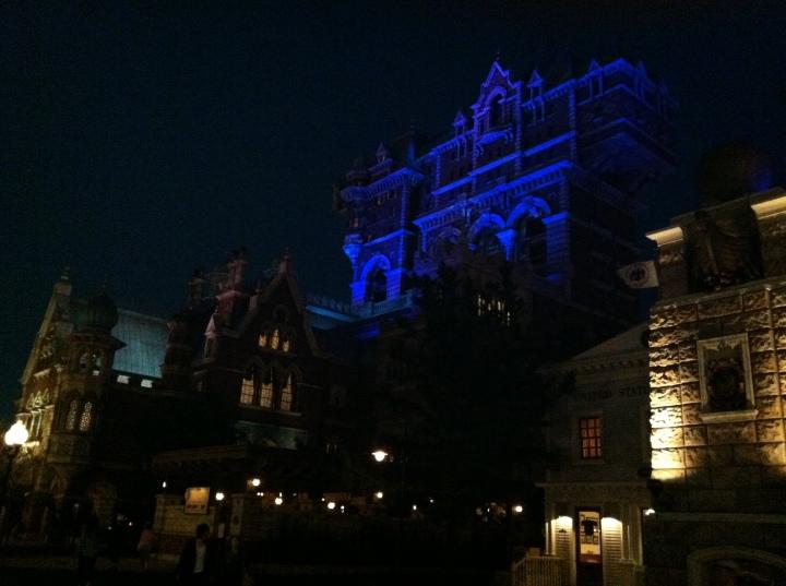 The Tokyo DisneySea version of Tower of Terror (sans Twilight Zone)