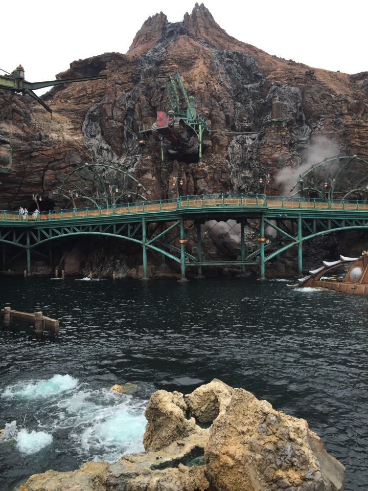 "Mt. Prometheus at the heart of Tokyo Disney Sea is more than just a ""castle"" but an entire land unto itself"