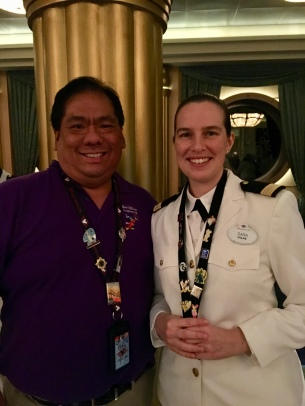 My favorite officer! Sara traded some great pins with me.