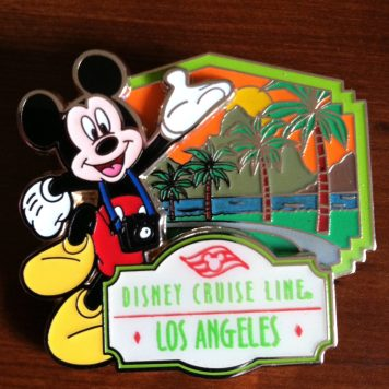 Love this limited edition Los Angeles port pin