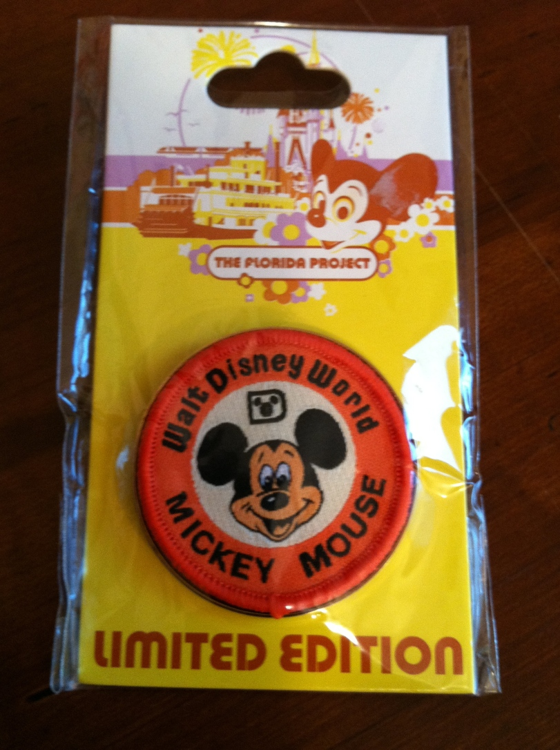 Special event pins from the parks like this one from The Florida Project at WDW