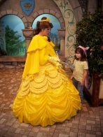 Having a heart-to-heart with Belle, another Emma favorite