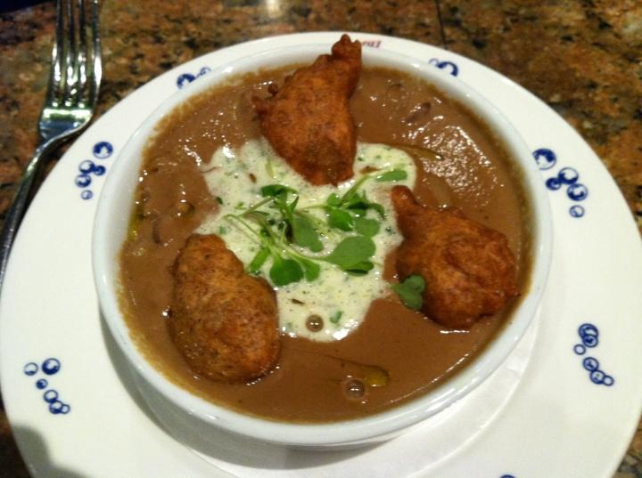 Yummy mushroom soup