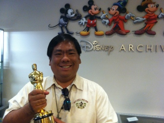 I'd like to thank the Academy for getting to come to the Disney Archives...