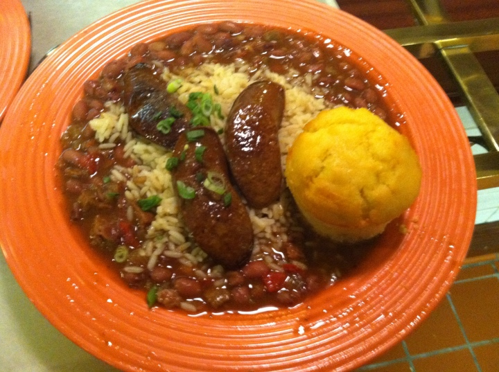 Delicious and filling red beans and rice - cajun style