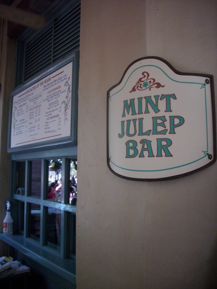The hidden gem - Mint Julep Bar