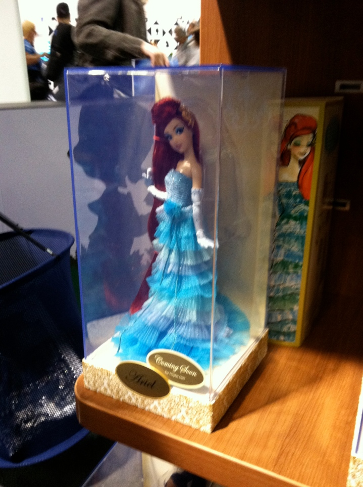 Ariel available for pre-order from The Disney Store.  These were selling like hotcakes.