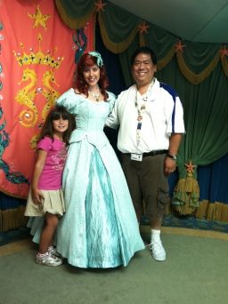 From our first visit back in 2011 meeting Ariel as we entered the dining area
