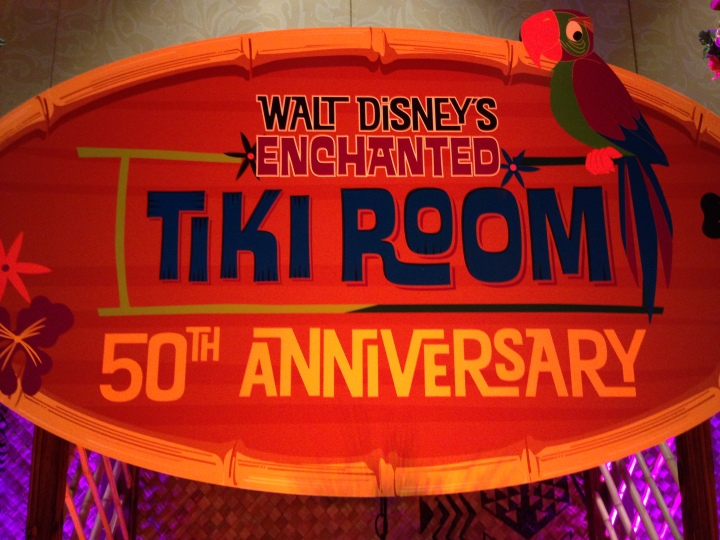Enchanted Tiki Room 50th Anniversary Event