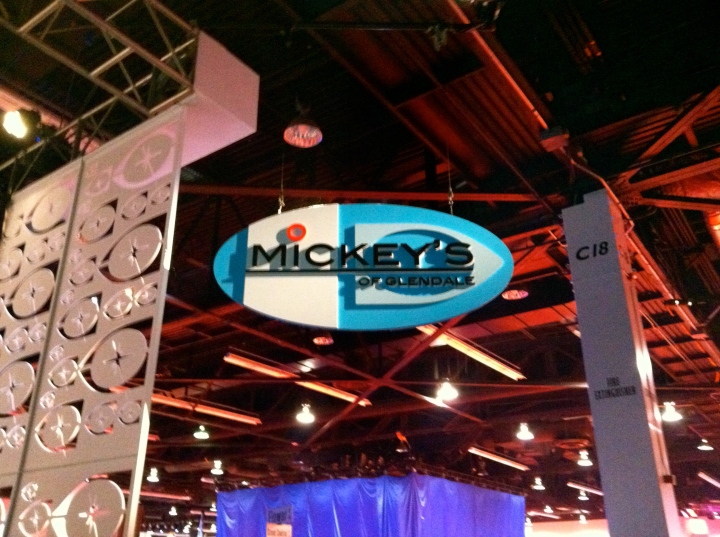 The entrance to Mickey's of Glendale at the Imagineering pavilion