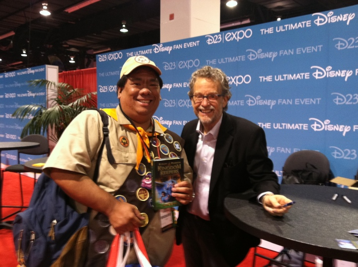 Meeting with Ridley Pearson, author of the Kingdom Keepers series