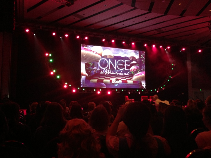 At the Once Upon A Time: Behind the Scenes session - GREAT stuff