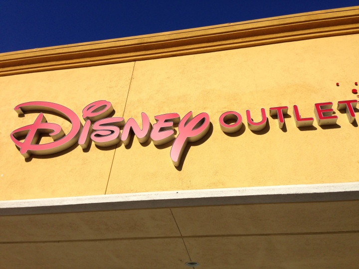 The Disney Outlet in Gilroy