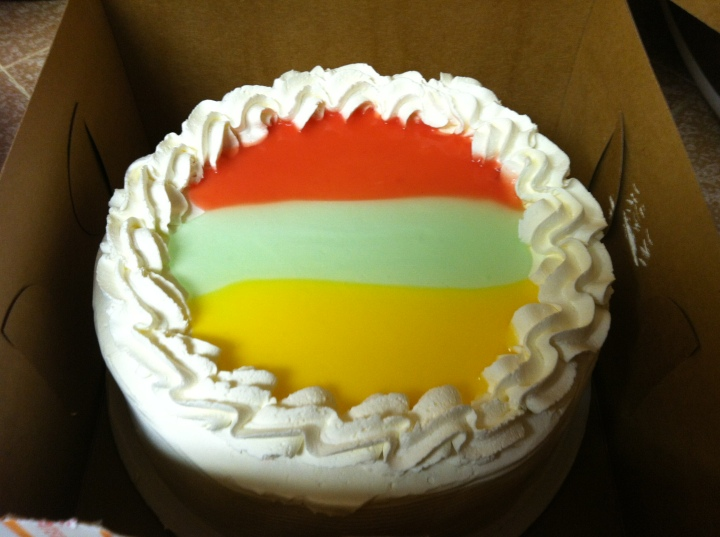 Paradise Cake - a specialty at King's Hawaiian and the Local Place
