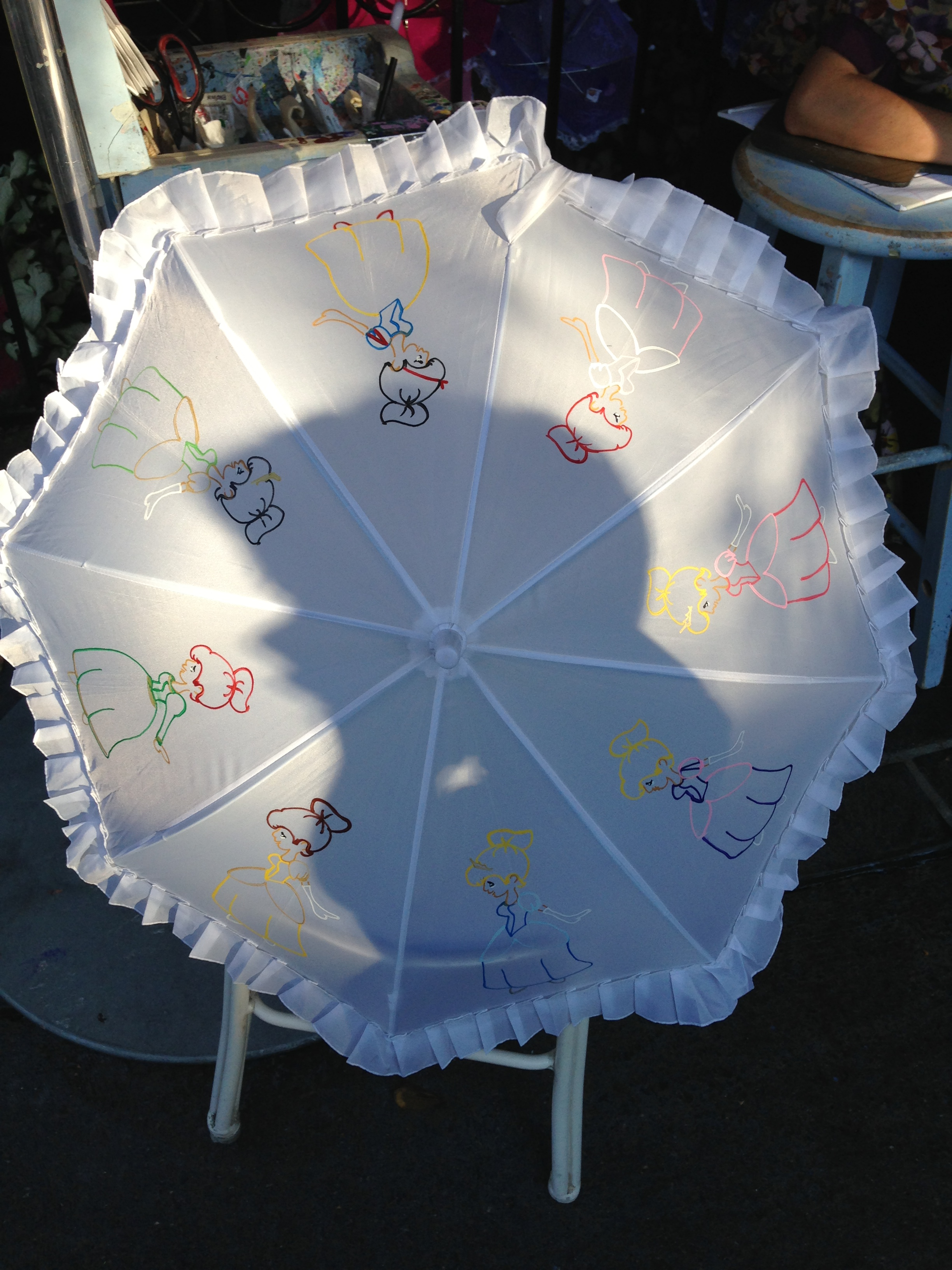 Hidden Treasures Perfectly Pretty Parasols To Make Mary Poppins