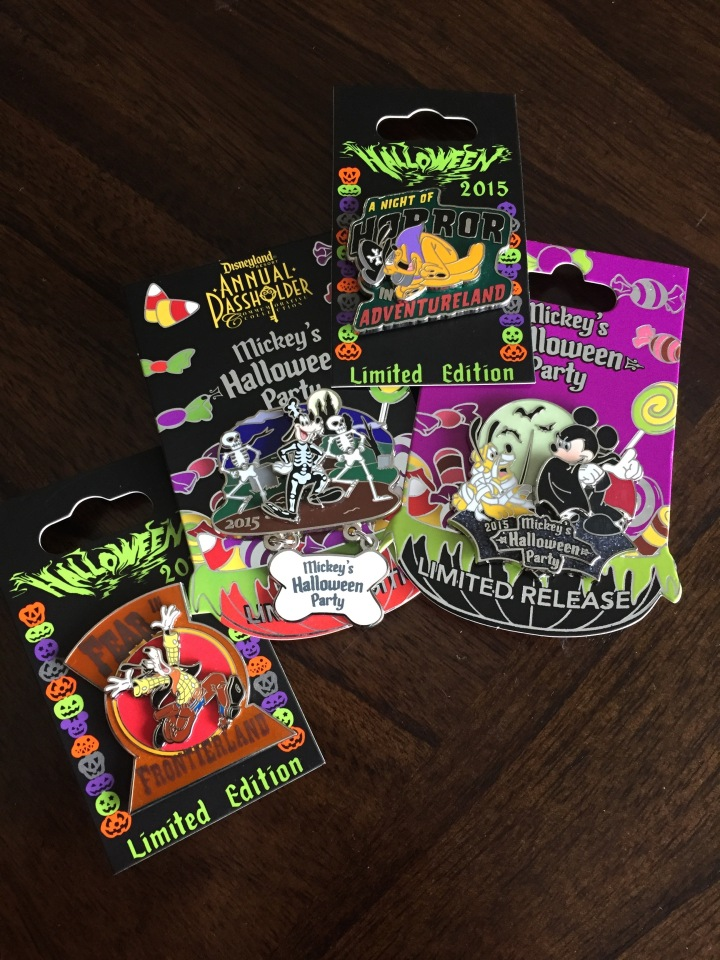 Selection of great pins from the 2015 Halloween Party