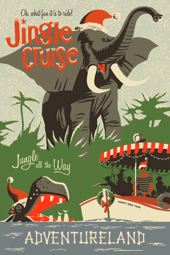 Poster for the Jingle Cruise courtesy of the Disney Blog