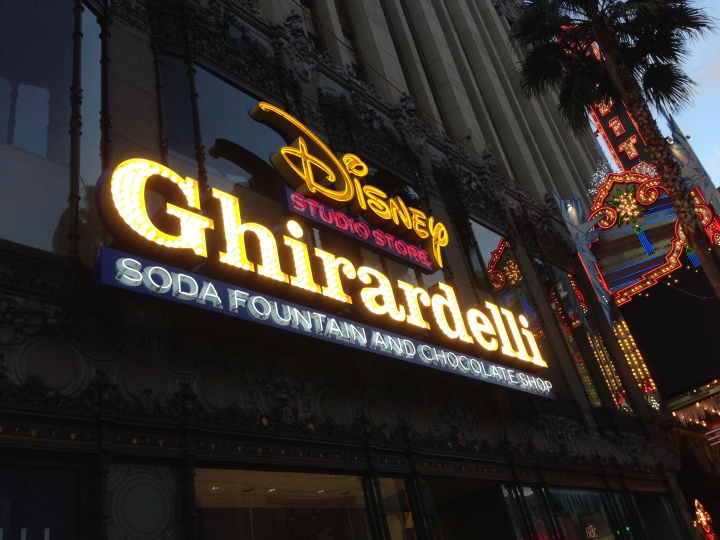 The new (refurbished) Disney Studio Store