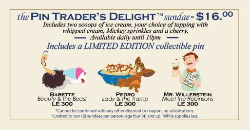 Pin Trader's Delight post on the Disney Studio Store FB page