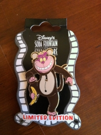 Great Cheshire Cat pin - I think this was in homage to Jungle Book