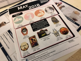 Monthly pin release flyer (also posted on DSSH FB page)