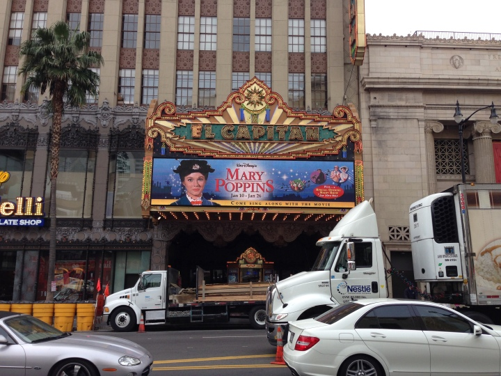 Mary Poppins Sing-A-Long at the El Capitan in Hollywood