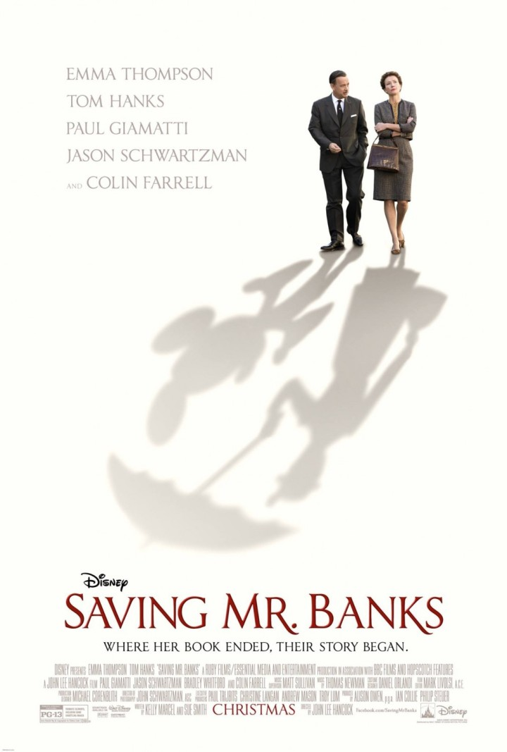 Love this poster for the movie - Saving Mr. Banks