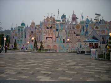 "Hong Kong Disneyland facade for ""It's A Small World"""