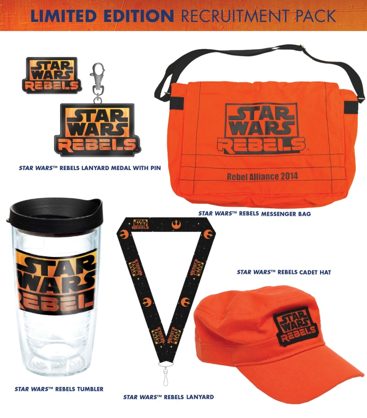 Rebel Recruitment Pack for all Rendezvous attendees
