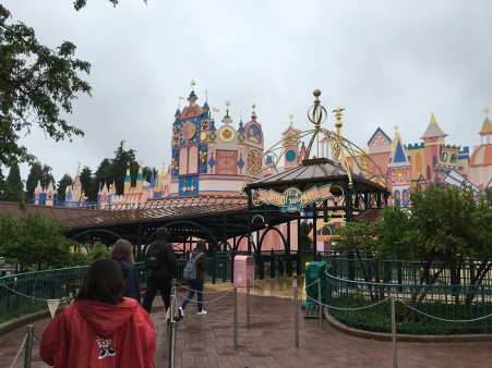 Disneyland Paris has a very fanciful facade