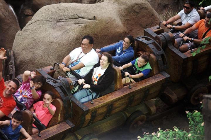 Riding on board the Seven Dwarves Mine Train is definitely worth using your FastPass+ selection