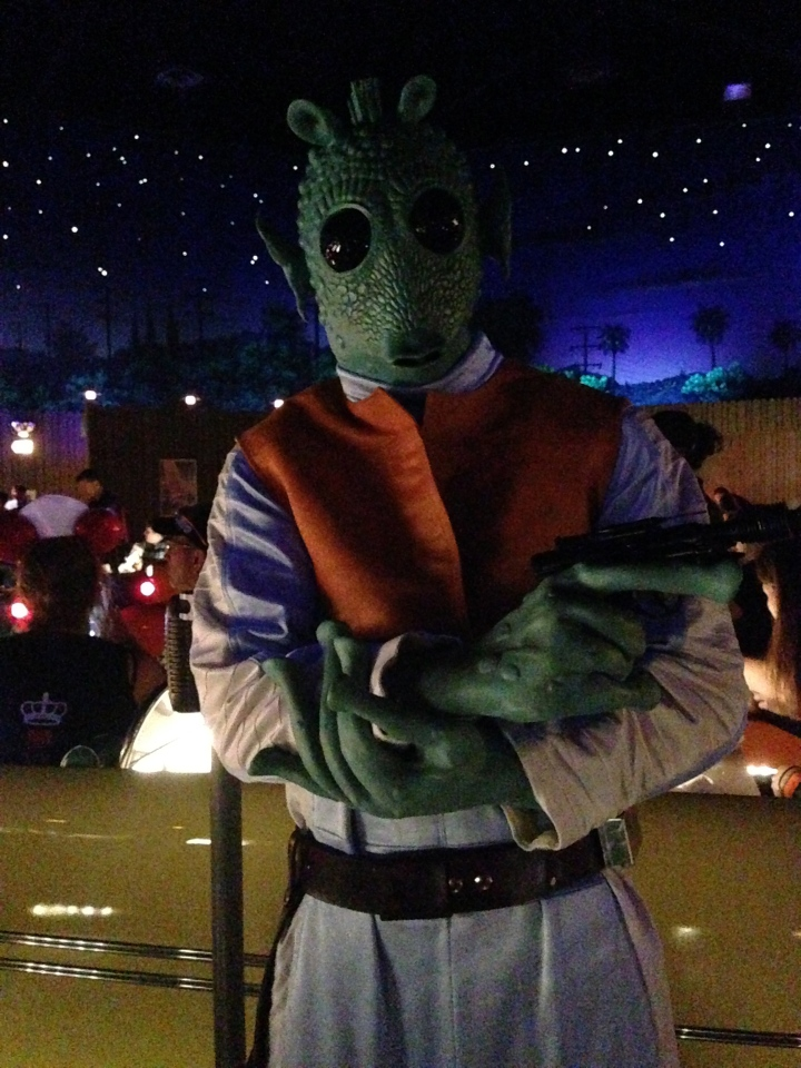 Greedo comes to greet you