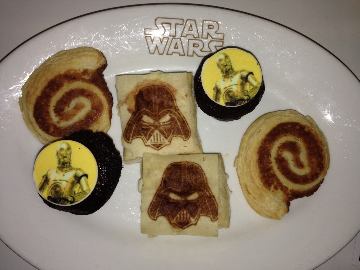 Delicious pastries to begin your meal