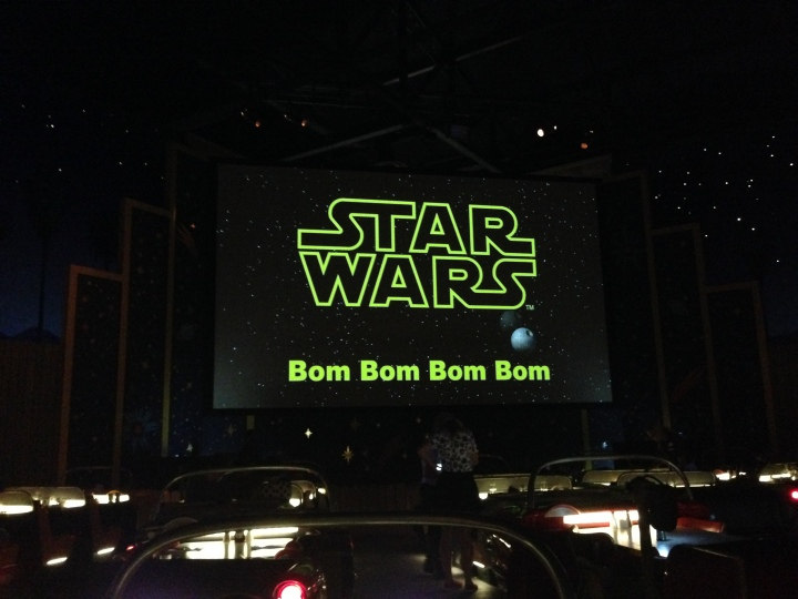 Star Wars theme song sing-a-long - too funny!