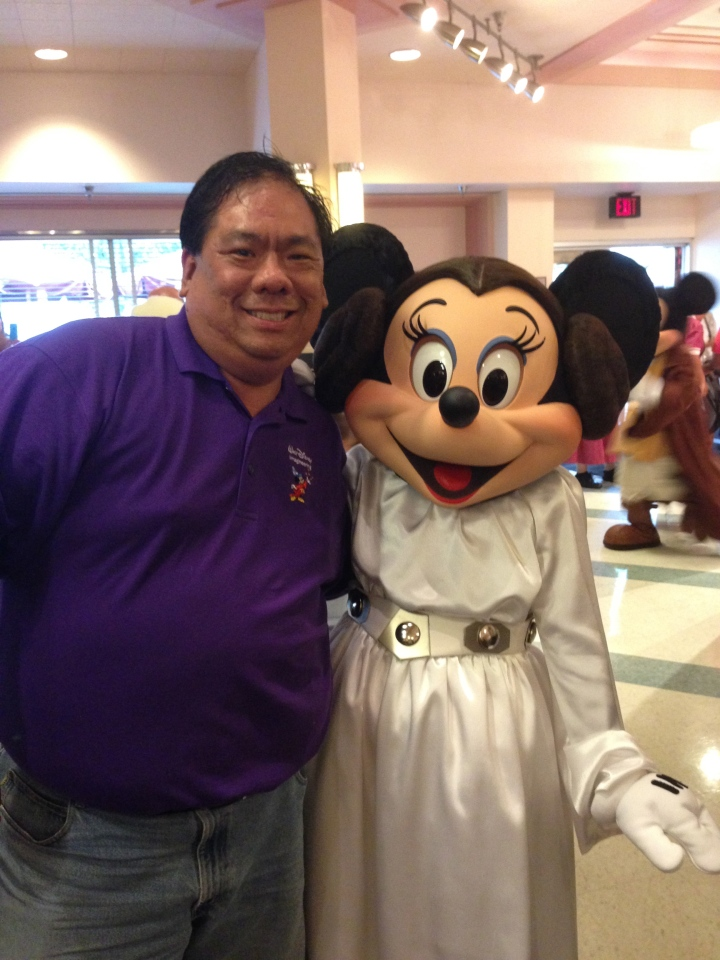 Princess Leia Minnie and me
