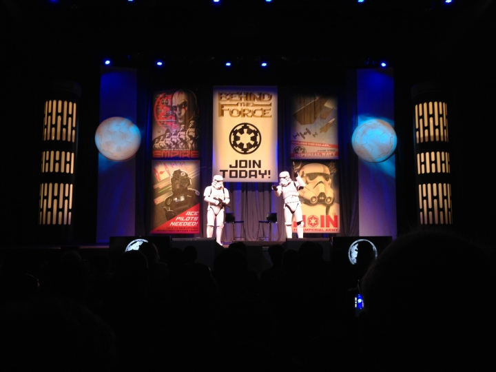 During Star Wars Weekends, shows like this one ran out of FastPass+ tickets very fast