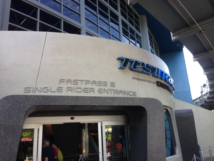 Test Track is one of the most sought after tickets - maybe second to Toy Story Mania