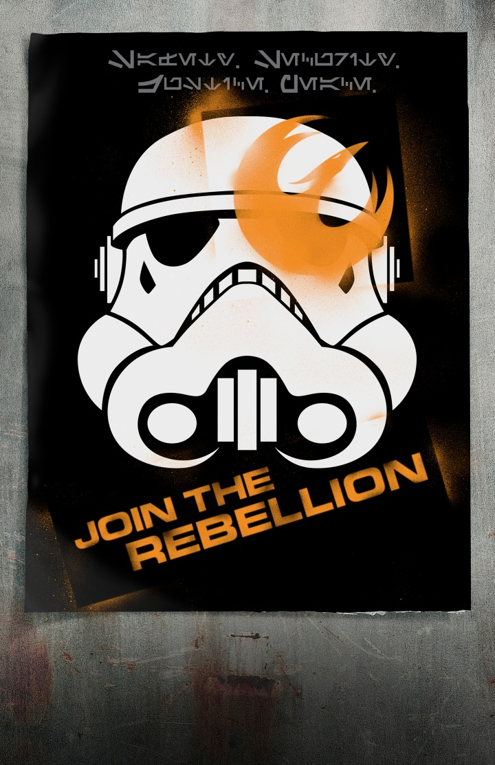 Join the Rebellion! - Does that phoenix remind you of anything?