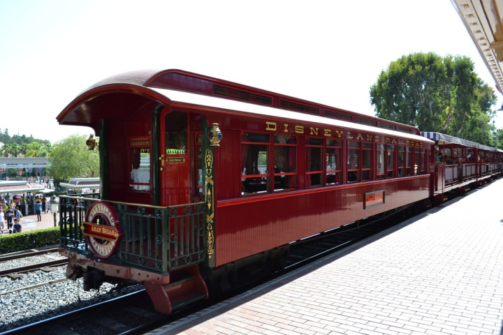 The beautiful caboose, the Lilly Belle