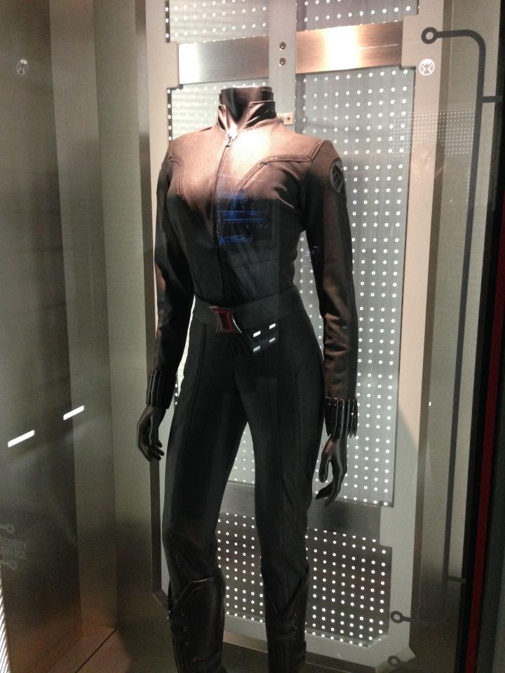 Natasha Romanova's Black Widow uniform