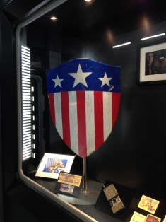 Cap's first shield before he was frozen