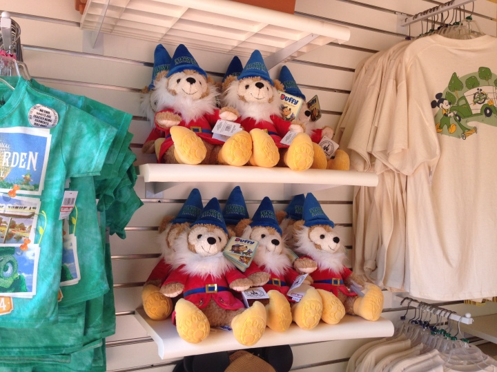 """The adorable """"gnome"""" Duffy's created exclusively for the Flower and Garden Festival."""