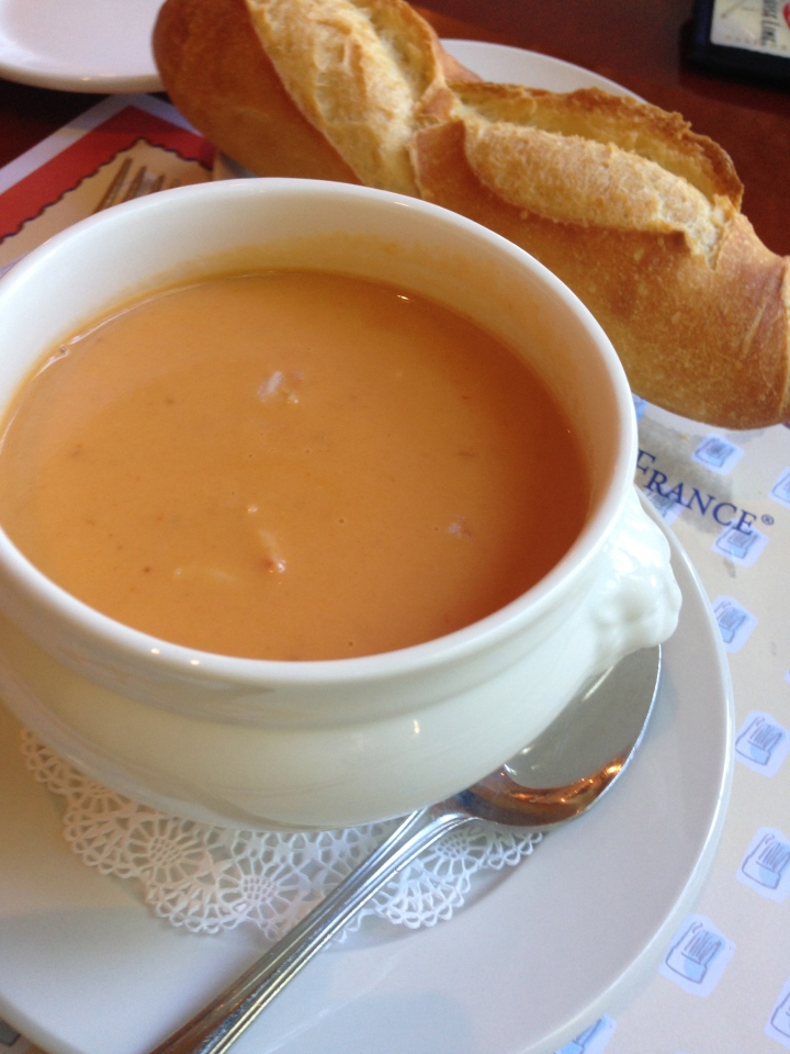 Course 1: Lobster Bisque
