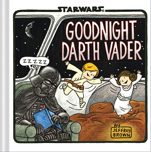 The cover for Goodnight Darth Vader coming out on July 22, 2014