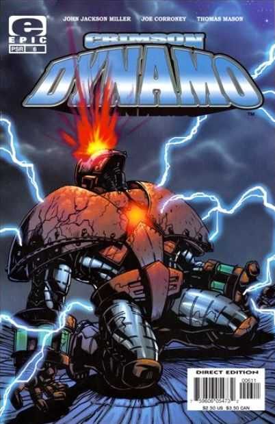 Crimson Dynamo cover from John's early work
