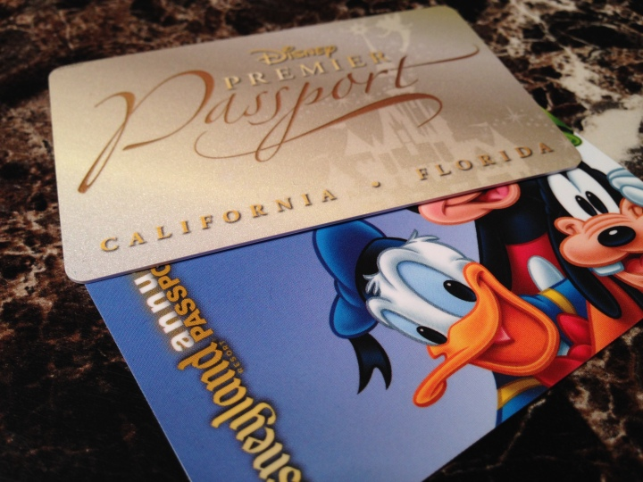 Premier Annual Pass and Disneyland Premium / Deluxe Annual Pass